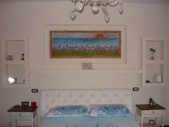 Testata Del Letto In Cartongesso : Decori in cartongesso appartamento san marino baronio luigi