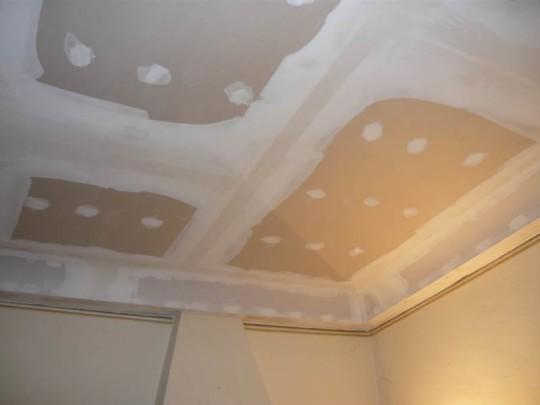 Intervento in cartongesso su vecchio soffitto  Baronio Luigi
